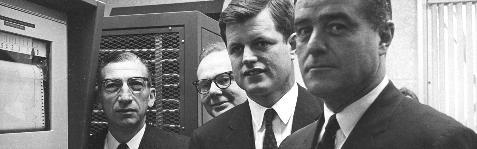 Harry Waisman, Ted Kennedy, Sargent Shriver
