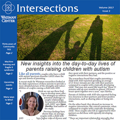 Cover of Intersections Newsletter 2017 Issue 2