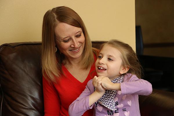 Heather Cooper, shown with her daughter Laurel